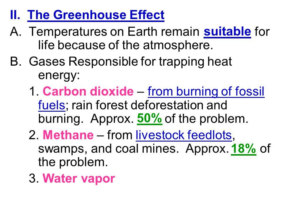 II. The Greenhouse Effect