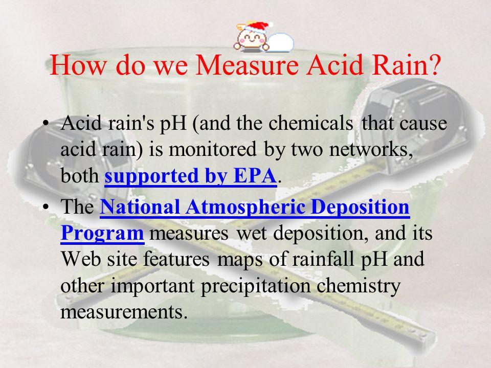 How do we Measure Acid Rain
