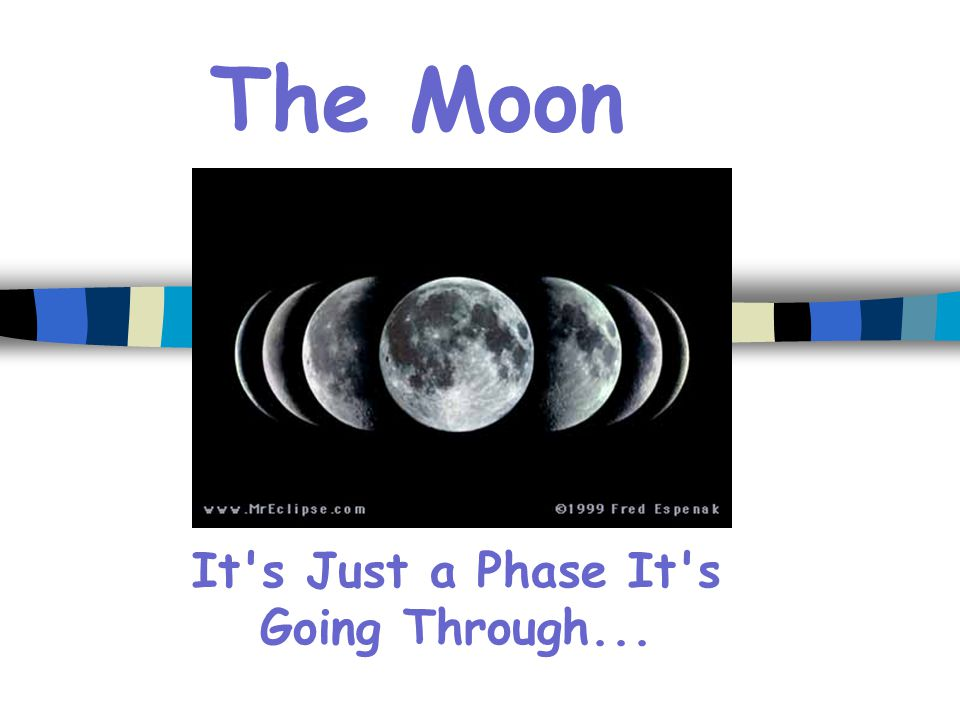 It s Just a Phase It s Going Through...