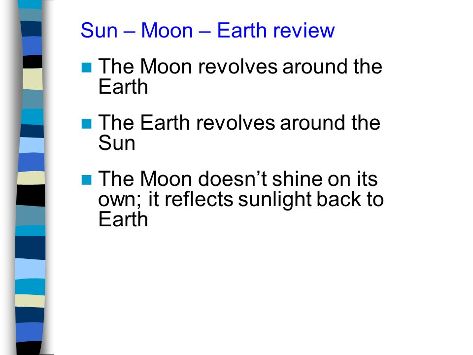 Sun – Moon – Earth review