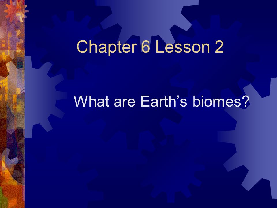 What are Earth's biomes