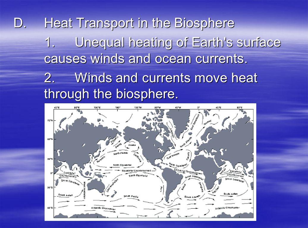 D. Heat Transport in the Biosphere