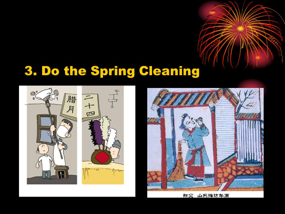 3. Do the Spring Cleaning