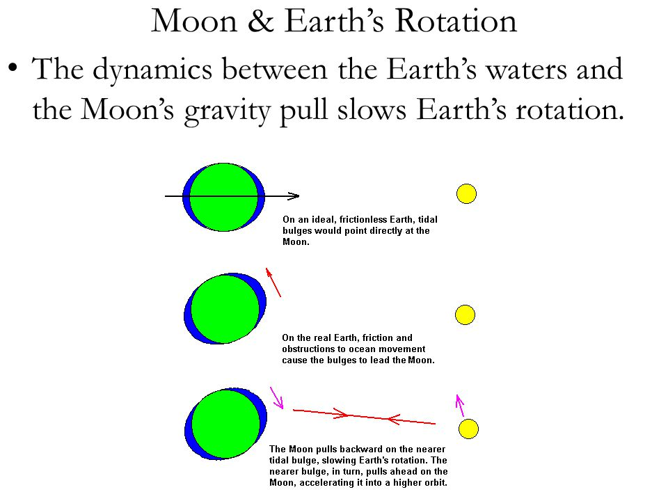 Moon & Earth's Rotation