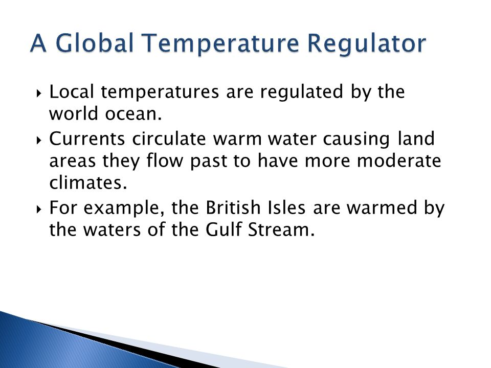 A Global Temperature Regulator