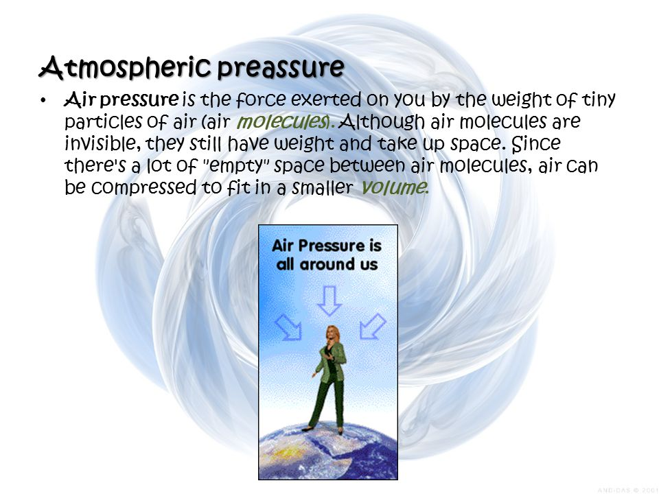 Atmospheric preassure