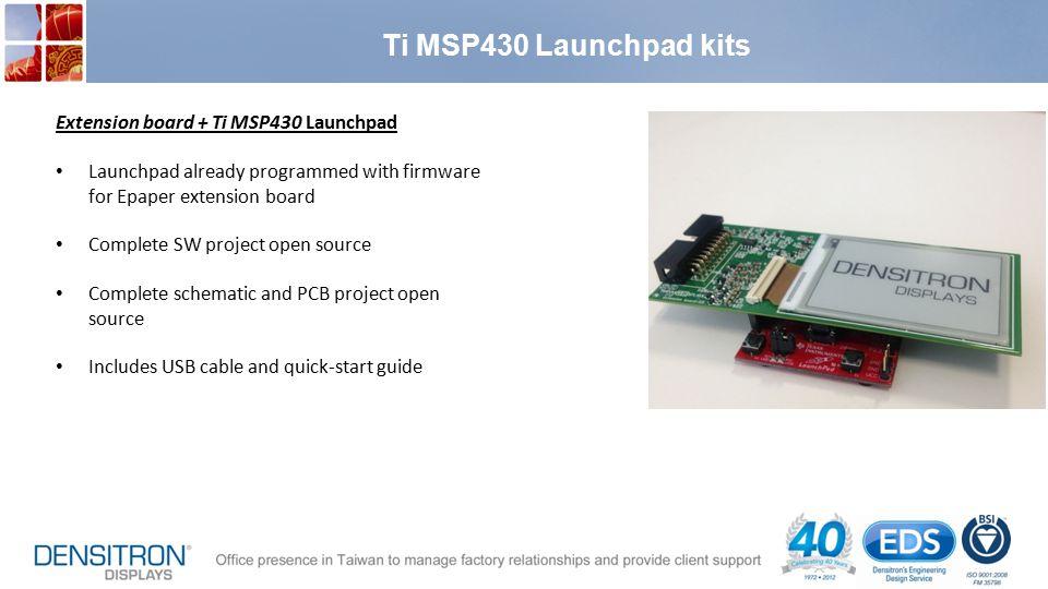 Ti MSP430 Launchpad kits Extension board + Ti MSP430 Launchpad