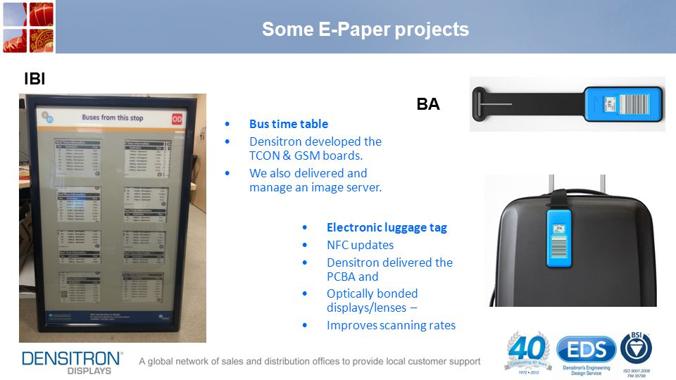 Some E-Paper projects IBI BA Bus time table
