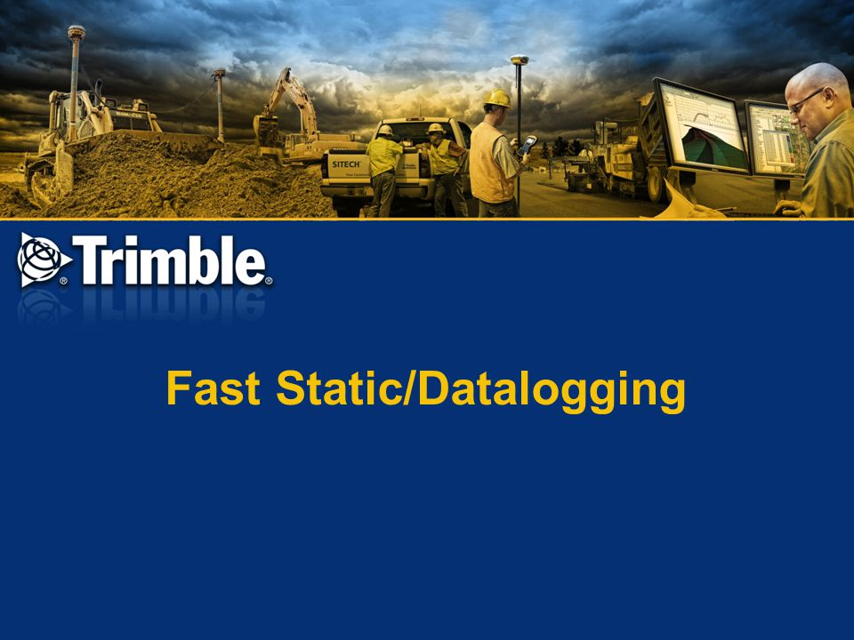 Fast Static/Datalogging