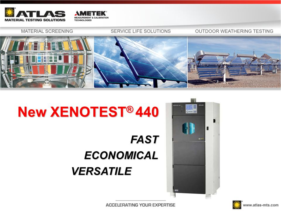 Accelerated Weathering Testing with Xenotest 440 helps You avoid costly Mistakes