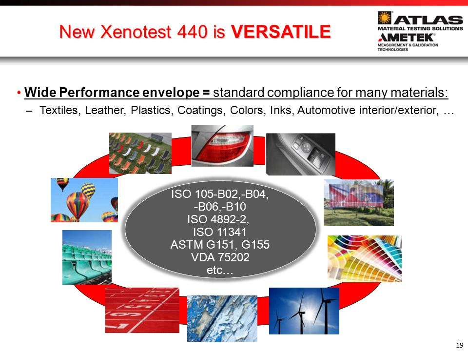New Xenotest 440 is VERSATILE