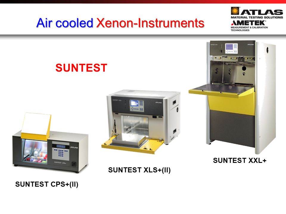 Air cooled Xenon-Instruments