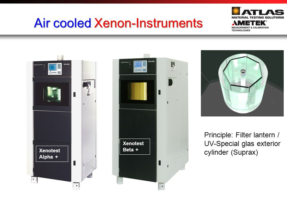 Water cooled Xenon-Instruments