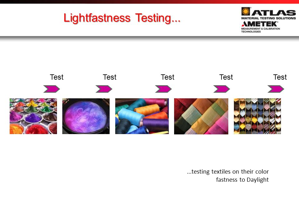1950: lightfastness test methods specify Xenon light...