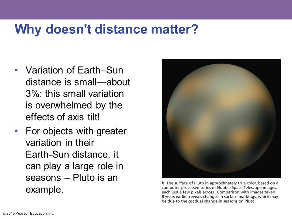 Why doesn t distance matter