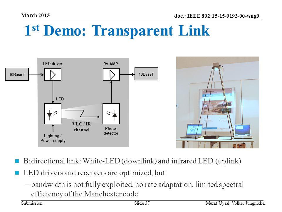 Lighting / Power supply