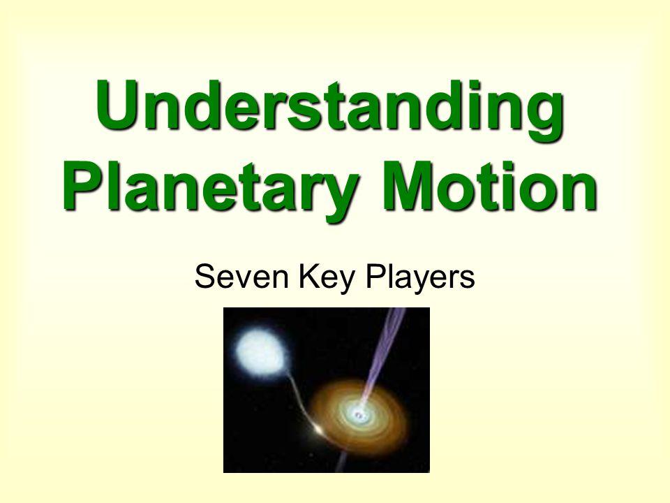 Understanding Planetary Motion