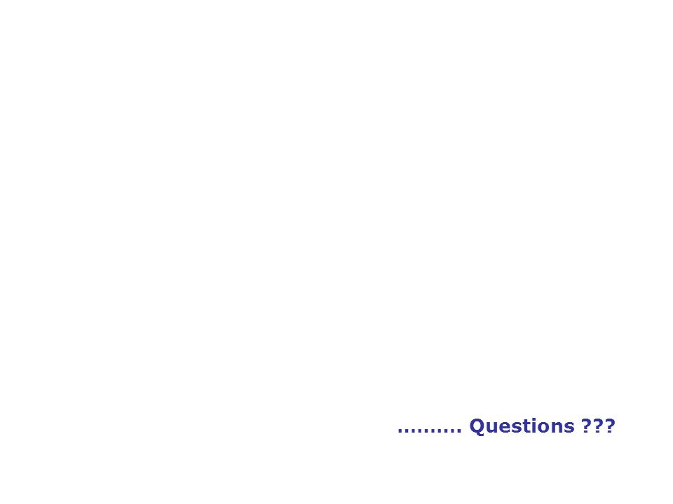 ………. Questions