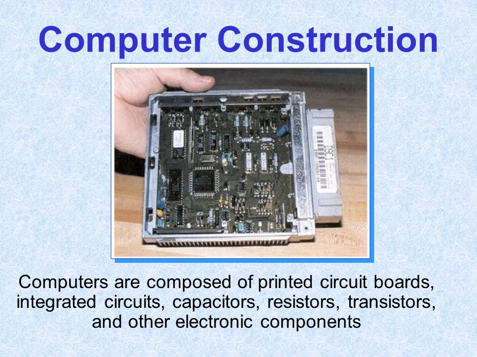 Computer Construction