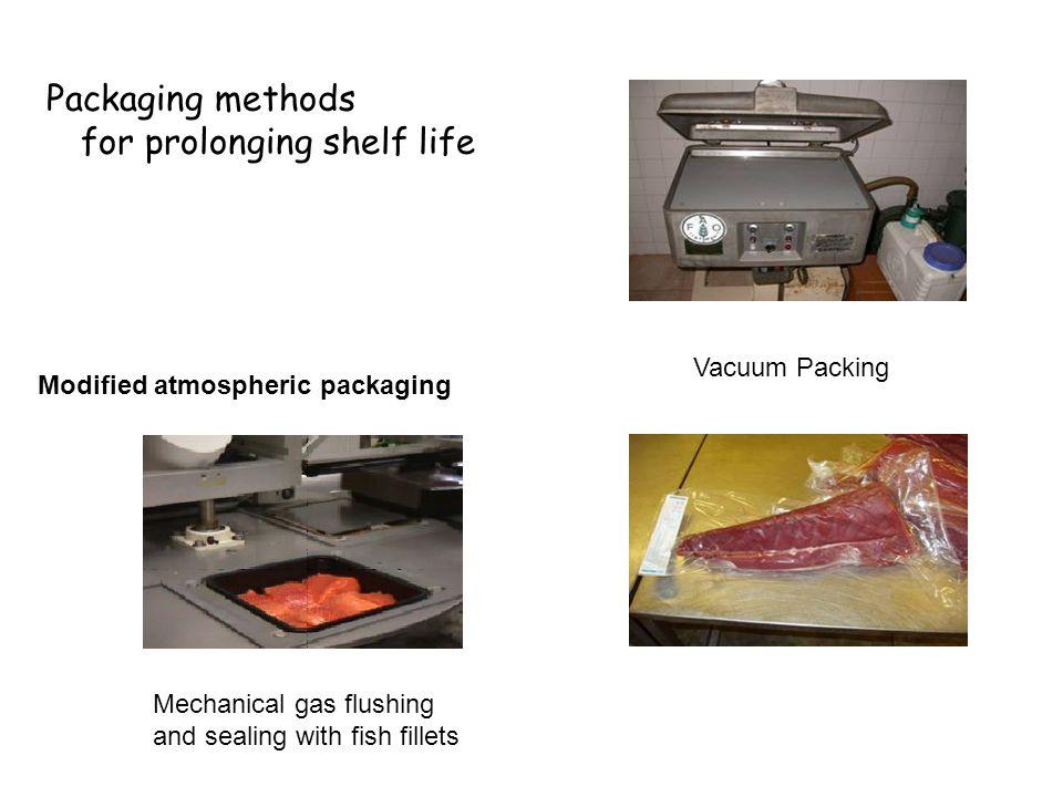 Packaging methods for prolonging shelf life