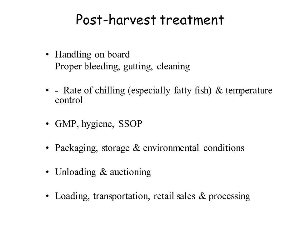 Post-harvest treatment