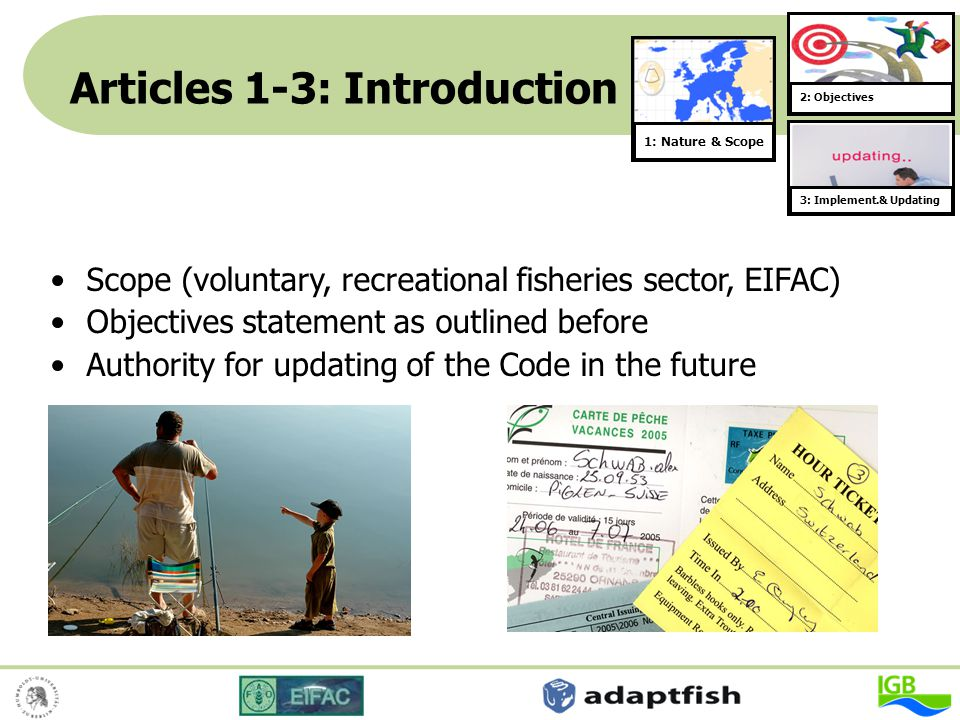 Articles 1-3: Introduction