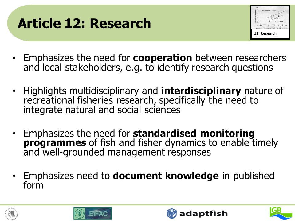 Article 12: Research 12: Research.