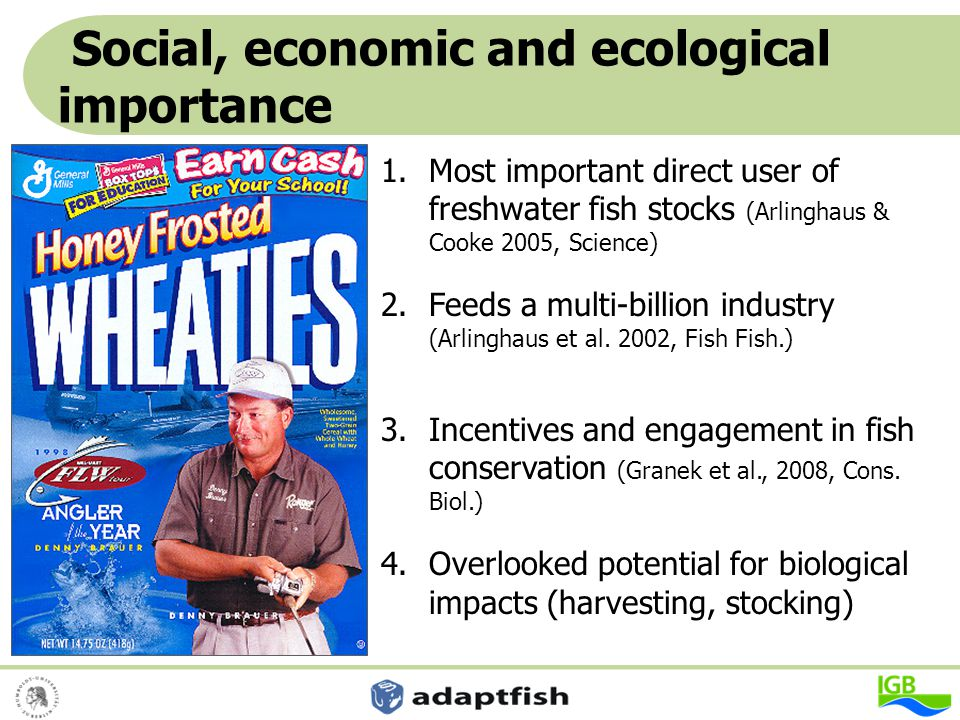 Social, economic and ecological importance
