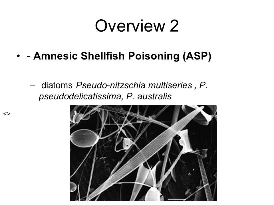 Overview 2 - Amnesic Shellfish Poisoning (ASP)