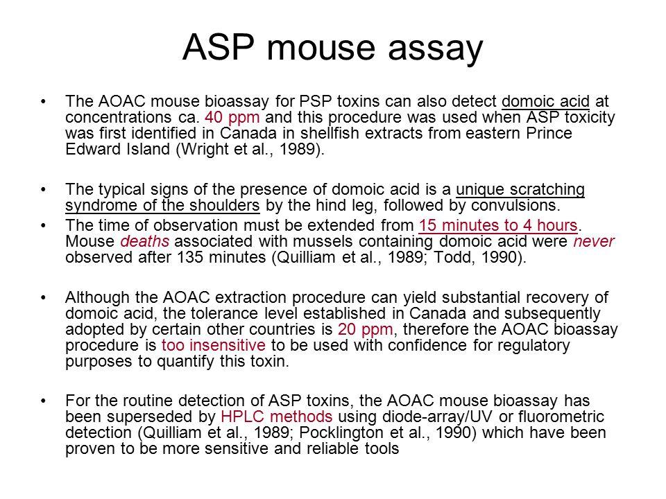 ASP mouse assay