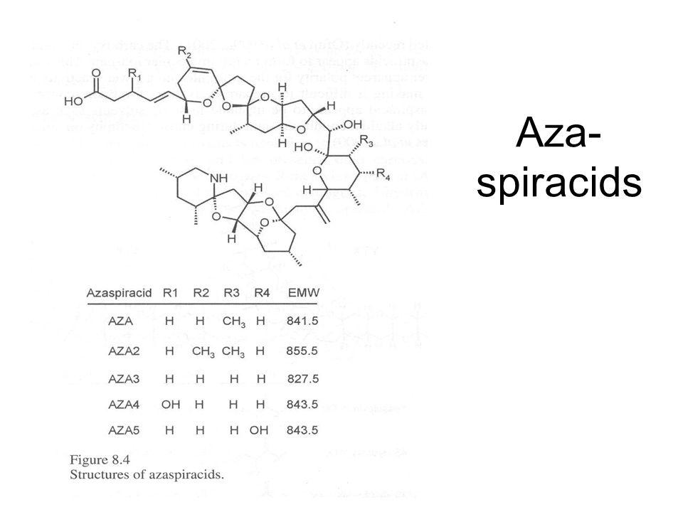 Aza- spiracids