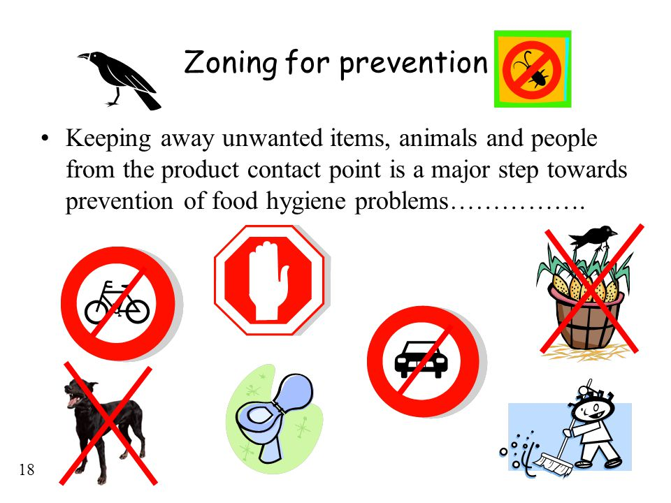Zoning for prevention