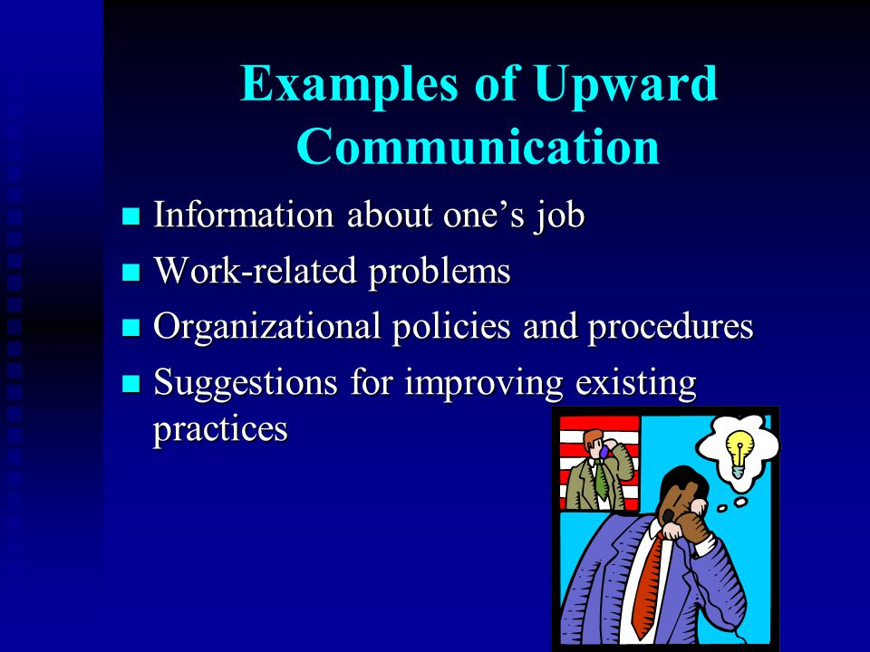 Examples of Upward Communication