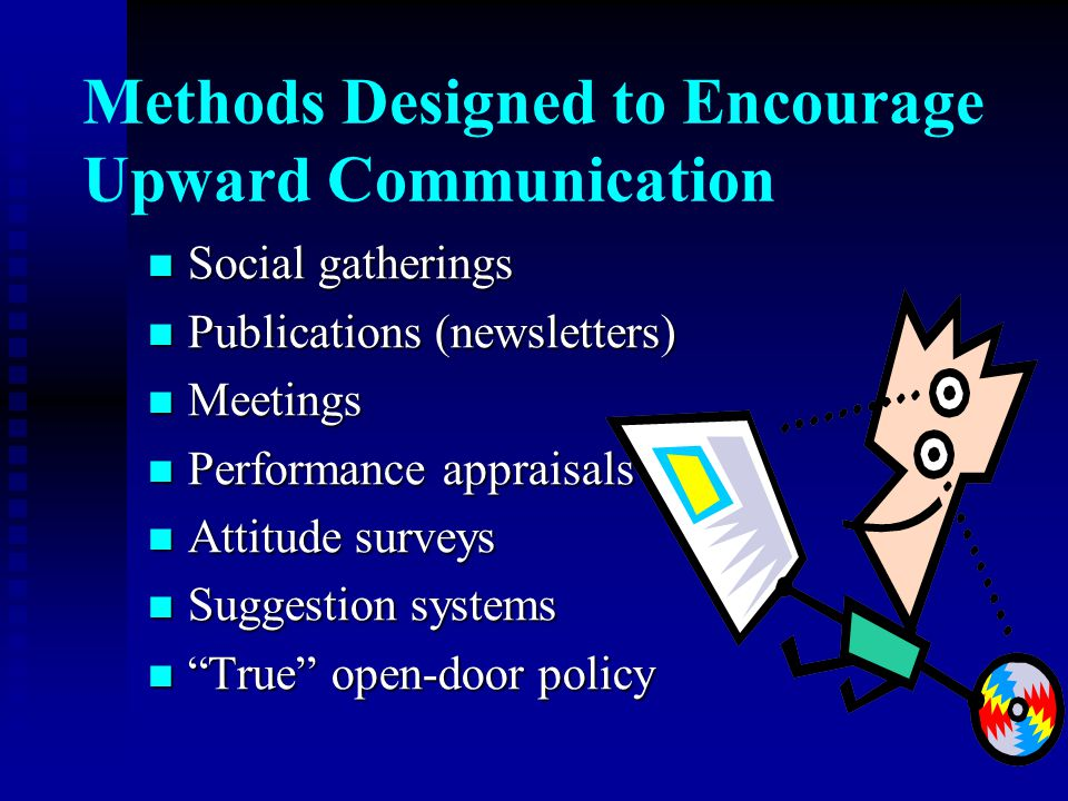 Methods Designed to Encourage Upward Communication