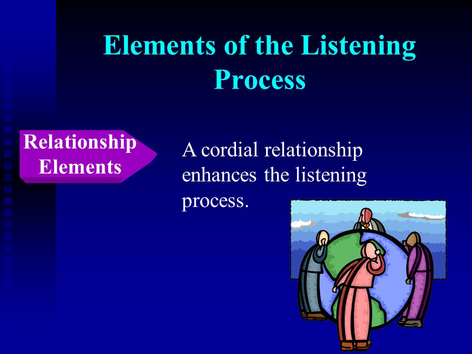 Elements of the Listening Process