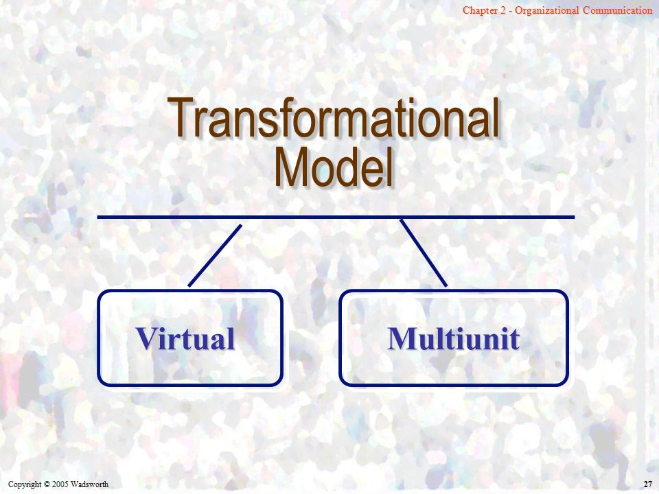 Transformational Model Virtual Multiunit
