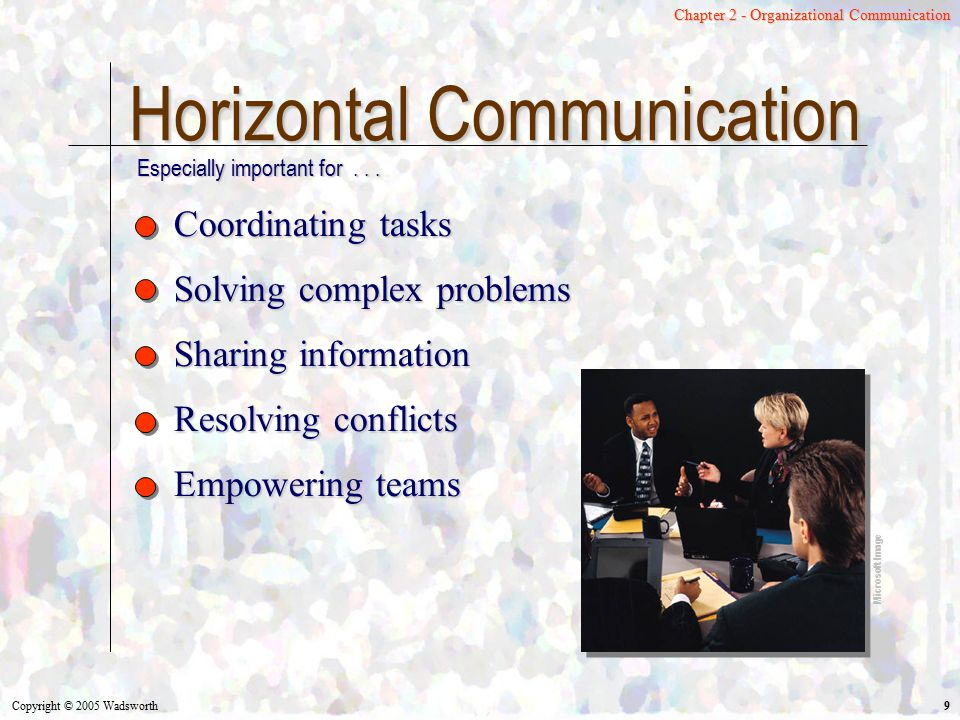 Horizontal Communication