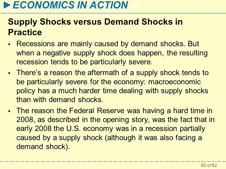 Supply Shocks versus Demand Shocks in Practice