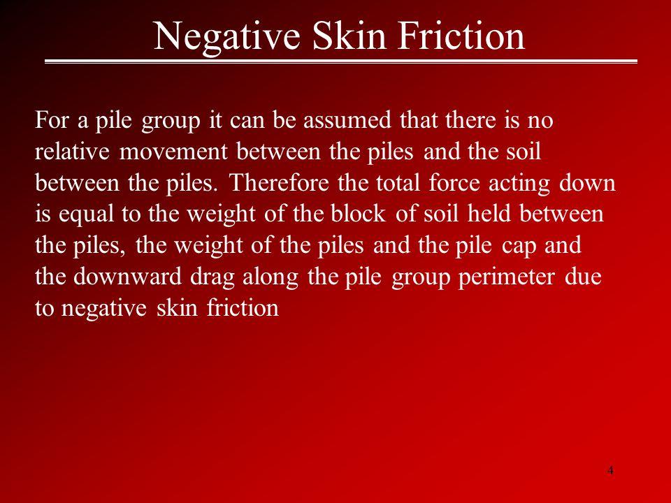 Negative Skin Friction
