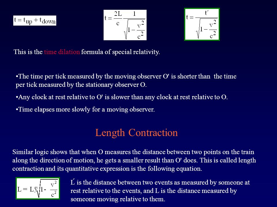 This is the time dilation formula of special relativity.