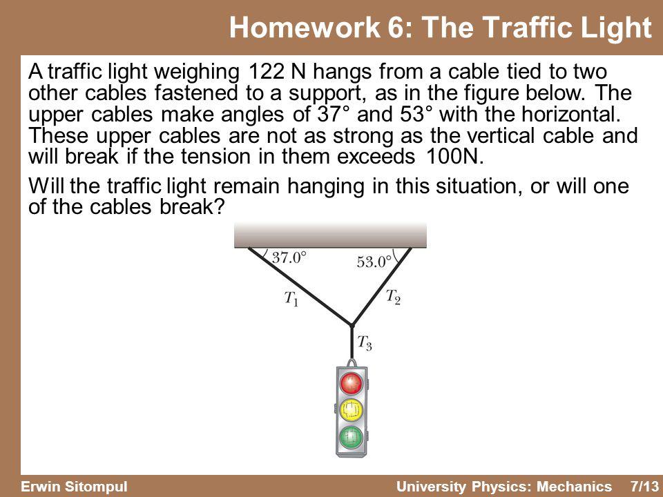 Homework 6: The Traffic Light