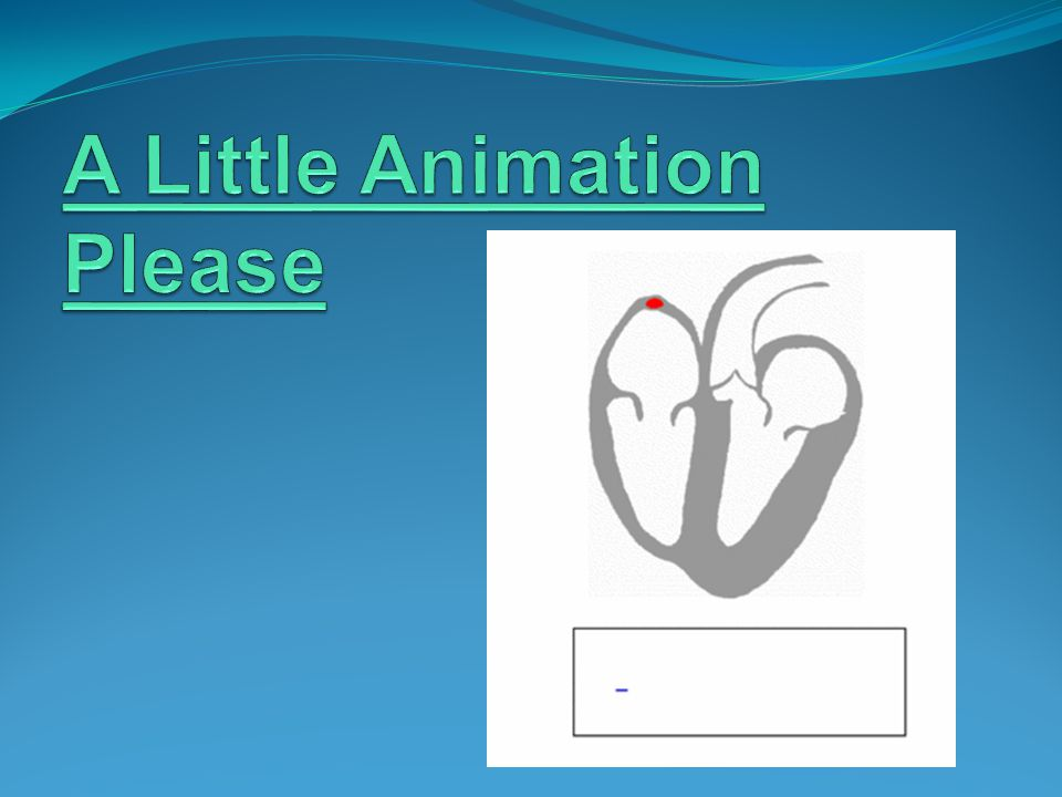 A Little Animation Please