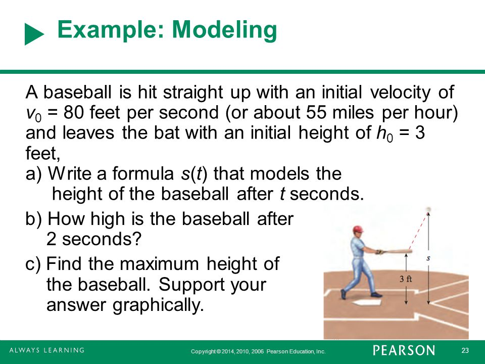 Example: Modeling