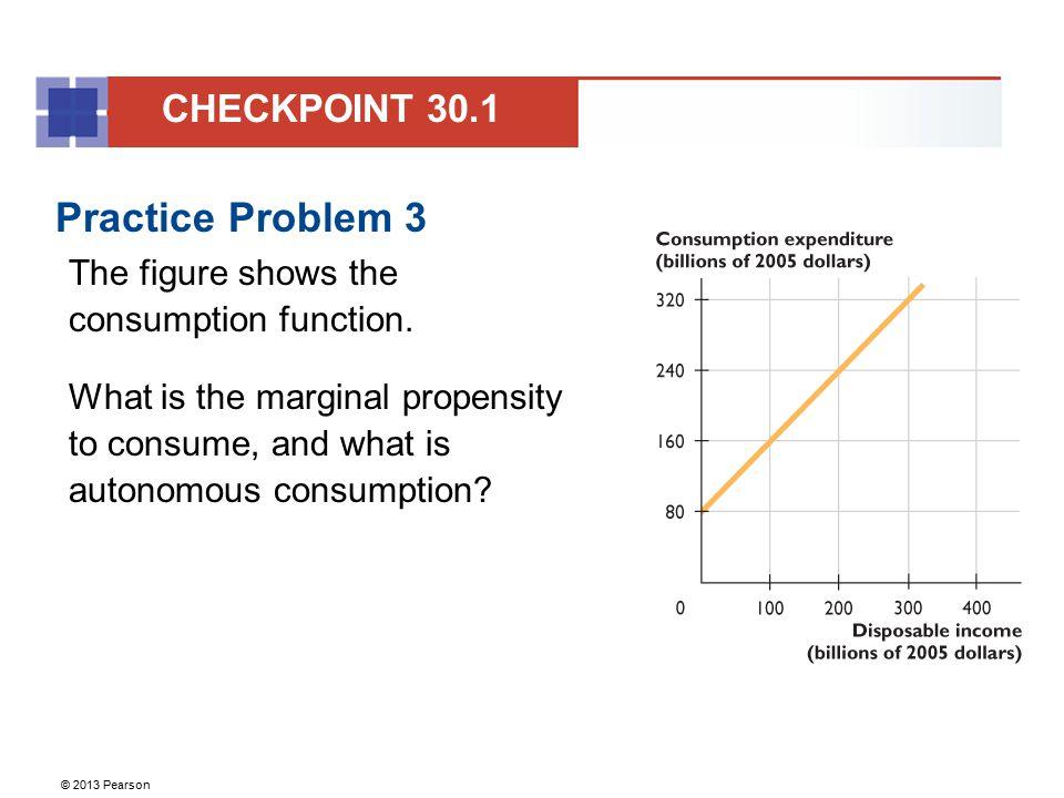 Practice Problem 3 CHECKPOINT 30.1