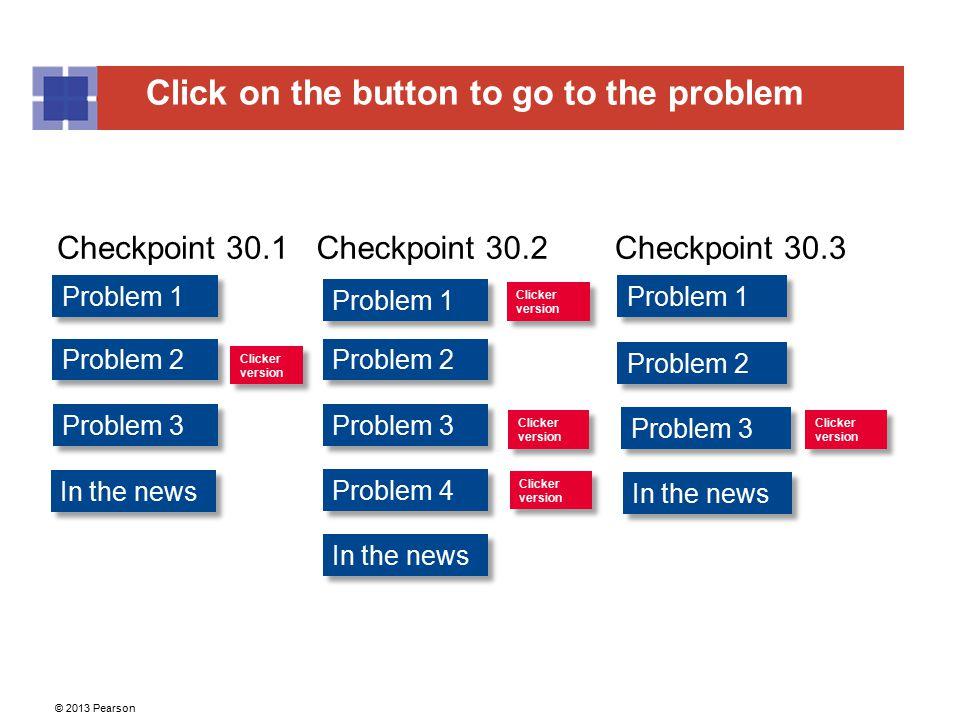 Checkpoint 30.1 Checkpoint 30.2 Checkpoint 30.3 Problem 1 Problem 1