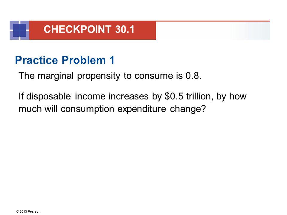 Practice Problem 1 CHECKPOINT 30.1