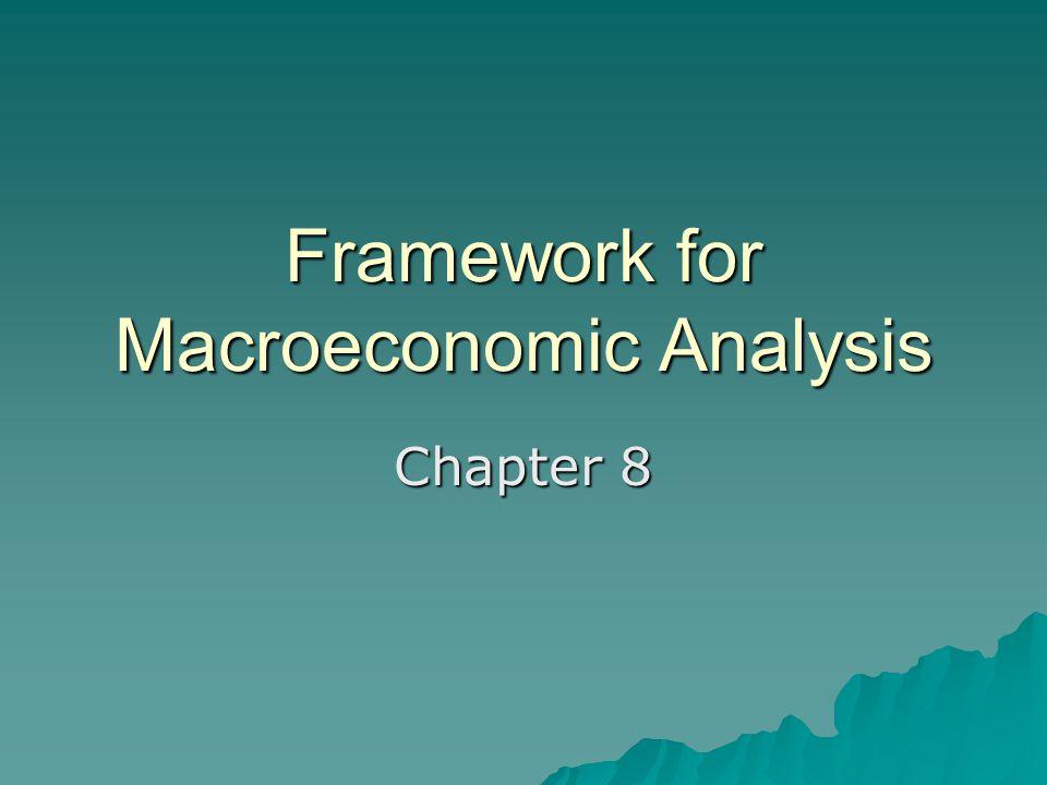 Framework for Macroeconomic Analysis