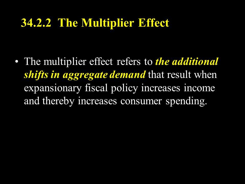 34.2.2 The Multiplier Effect