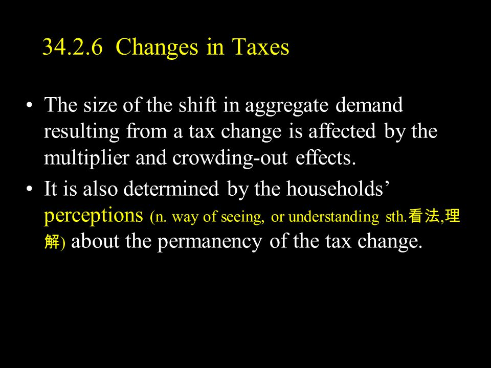 34.2.6 Changes in Taxes