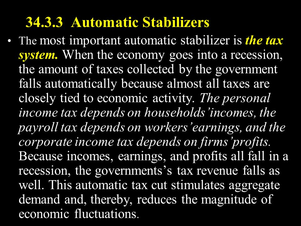 34.3.3 Automatic Stabilizers